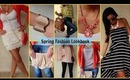 Spring Fashion Lookbook! ♥
