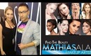 IMATS 2014 - Beauty Makeup for HD Television w Mathias Alan for Senna Cosmetics