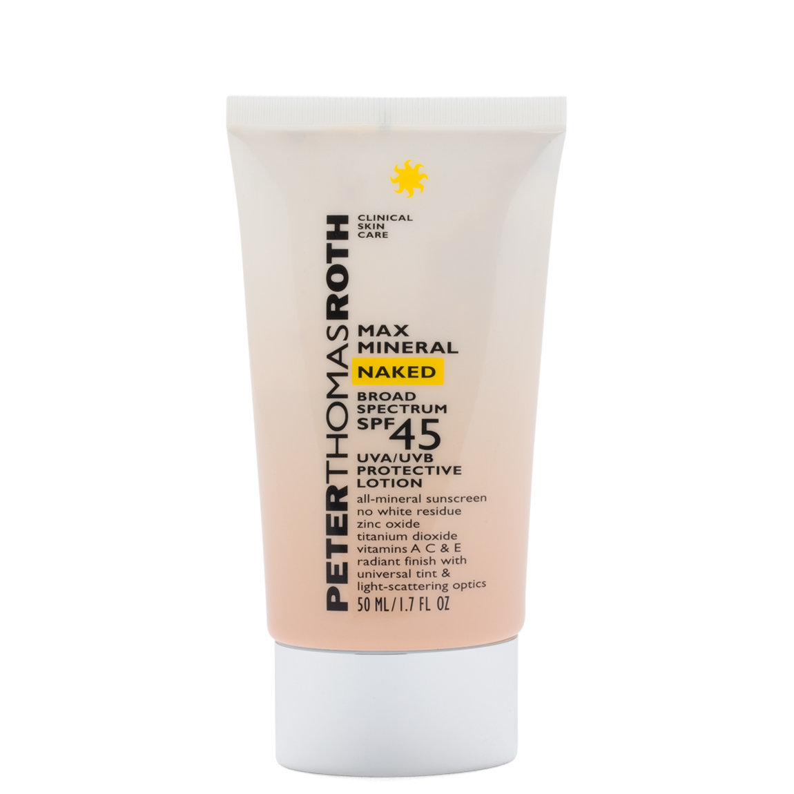 Peter Thomas Roth Max Mineral Naked Broad Spectrum SPF 45 alternative view 1 - product swatch.