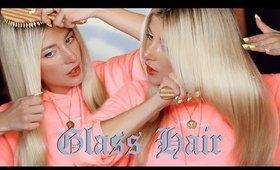 I Figured Out How To Do The Kardashian Glass Hair