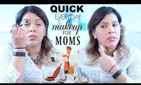 Quick Everyday Makeup for Working Moms