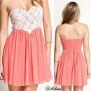 Pretty light pink dress