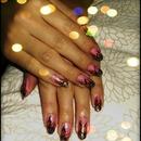 Pink & Gold Lillies!