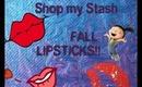 november Shop My Stash: fall lips!