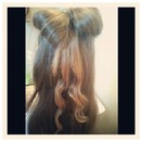Simple Bow In The Hair