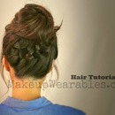 Tutorial | Cute Back-to-School Hairstyles & Updos |   Braided Messy Bun & Ponytail