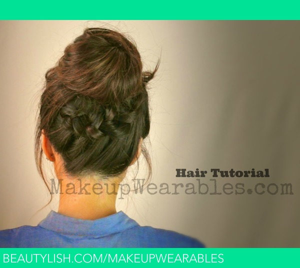 Awesome Tutorial Cute Back To School Hairstyles Amp Updos Braided Messy Short Hairstyles Gunalazisus