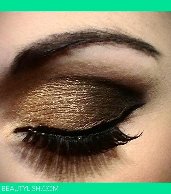 Gold And Black Smokey Eye Makeup Step By Step - Makeup ...