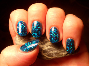 Gorgeous indie polish by Alanna Renee, inspired by the Pacific Ocean, called Pacific
