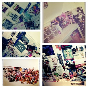 My Room is 1 big Collage :)