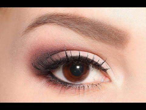 Soft Smokey Eyes Tutorial Olga Blik Video Beautylish