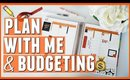 October Plan With Me + Budgeting (50/30/20)