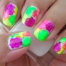 Big Bold Neon Splats 1