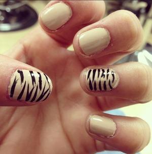 Zebra strips