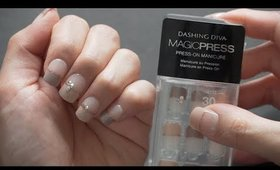 PRESS ON MANICURE : DASHING DIVA MAGIC PRESS ON | PRODUCT REVIEW