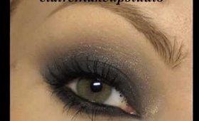 Dramatic feline smoky eyes make-up tutorial