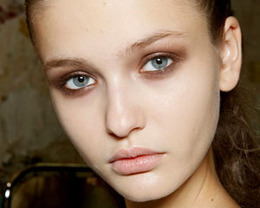 Hussein Chalayan Makeup, Paris Fashion Week S/S 2012