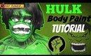 Hulk Body Paint Tutorial (NoBlandMakeup)