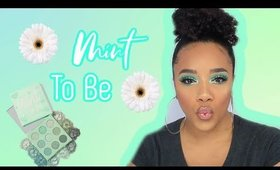 Colourpop Mint to Be Palette | Minty Spring Eyeshadow |Leiydbeauty