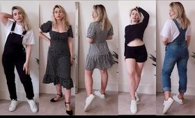 BOOHOO HAUL + TRY ON (I like everything in this haul!)