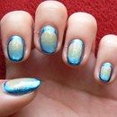 Galactic Gradient Frame Nails