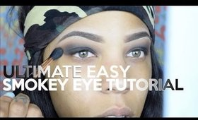 Smokey Eye Makeup tutorial for Beginners! Easy & Affordable