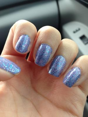 Essie - She's Picture Perfect Love & Beauty - Lavender/Multi Glitter China Glaze - First & Last