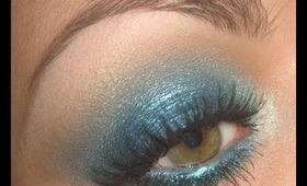 """""""Ocean Wide"""" Blue eyes make-up tutorial"""