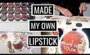 MADE MY OWN LIPSTICK! NYC Bite Beauty Lip Lab