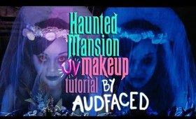Haunted Mansion Bride | UV Makeup Tutorial | AUDFACED