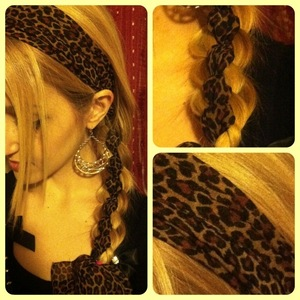 4 strands braid inspired by Lilith Moon