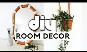 DIY ROOM DECOR MAKEOVER! Thrift Store Flip & Upcycle! Room Makeover 2019 | Nastazsa
