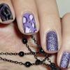 Black and violet