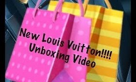 Unboxing New Vuitton Bag