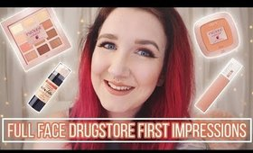 Full Face First Impressions | Drugstore Only!