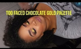 OMG!!!TOO FACED CHOCOLATE GOLD review!!! 🍫🍫