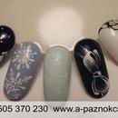 Nails  Christmas nail art. Paznokcie hybrydowe Łódź