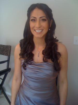 Bridesmaid Hair & Makeup Client! www.shaniltonsvirtuouscreations.webs.com