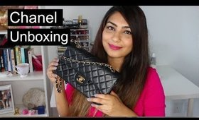 CHANEL UNBOXING Fashionphile: SMALL CLASSIC FLAP BAG in Black Lambskin