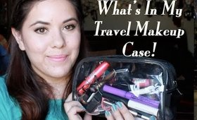 What's In My Travel Makeup Case!