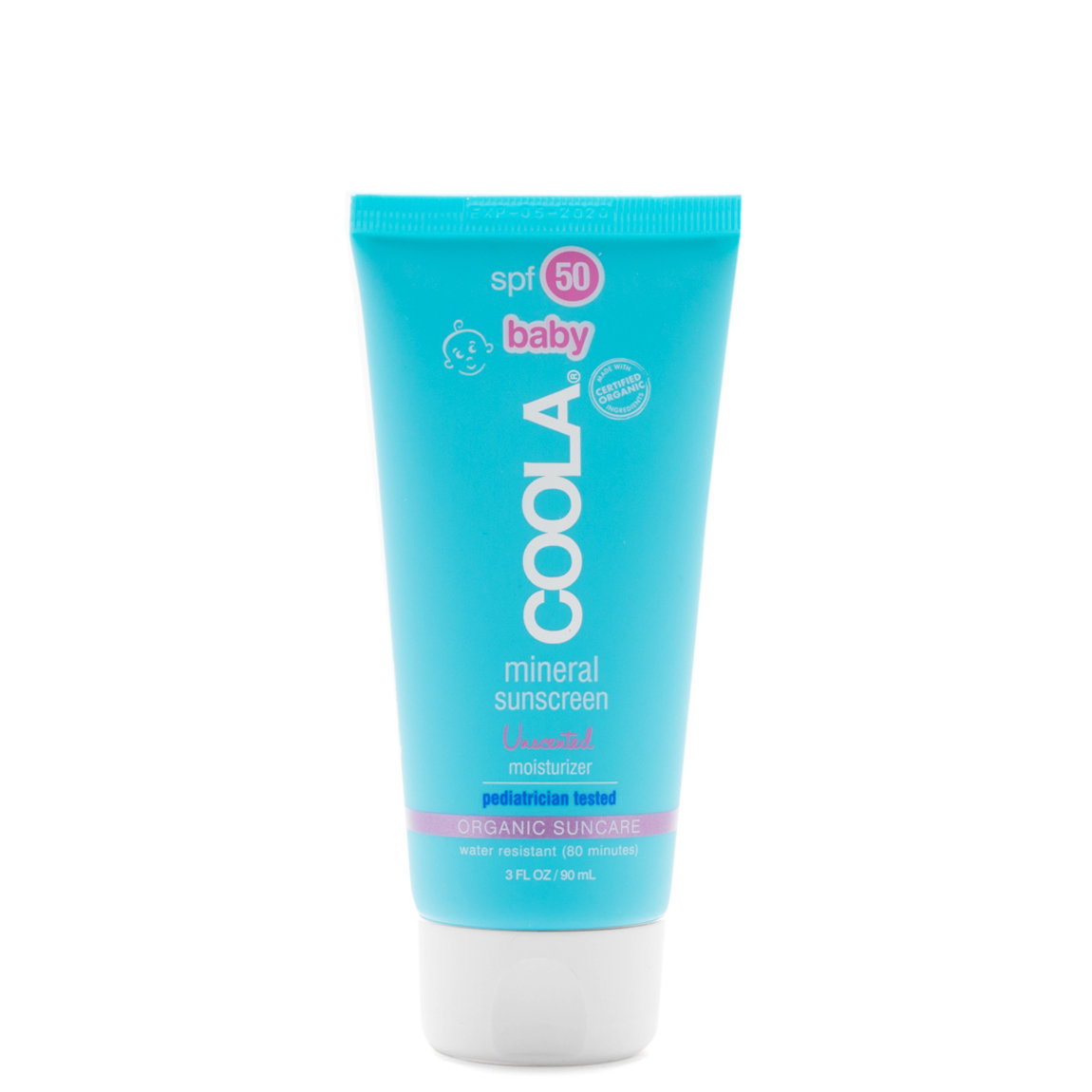 COOLA Mineral Baby Sunscreen Moisturizer SPF 50 alternative view 1 - product swatch.