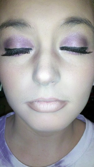 purple brings out green eyes the best!