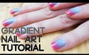 Gradient/ Ombre Nail Tutorial by Queen Lila x WearThisToday