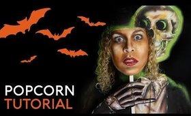 Popcorn | VHS Box Art | Cristress of the Dark | Body Paint Tutorial