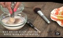 How-To Clean Makeup Brushes!
