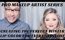 How to Find the Perfect Dark Lip Color for Every Skintone Makeup Tutorial- mathias4makeup
