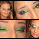 Rainbow Smokey Eye