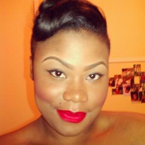 Bahamian girl pin up