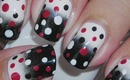 Nail Art - Spotted - Decoracion de uñas
