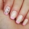 Girly nail art design